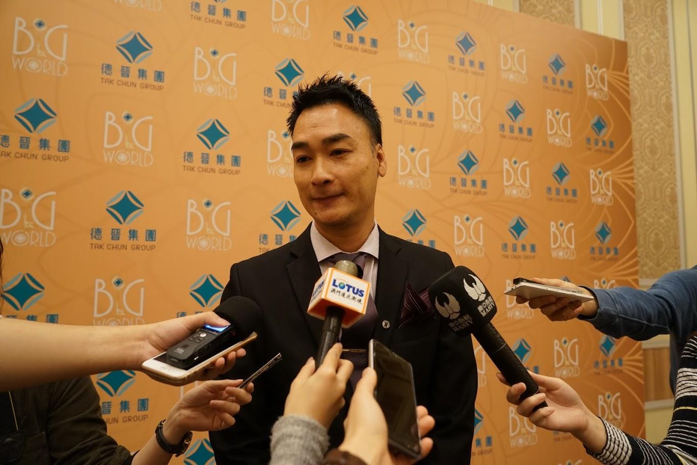 德晉營運總裁李彥霖指集團未來會着重打好根基