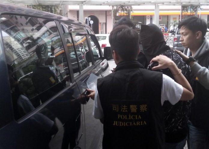 內地漢搶大學生手袋被捕