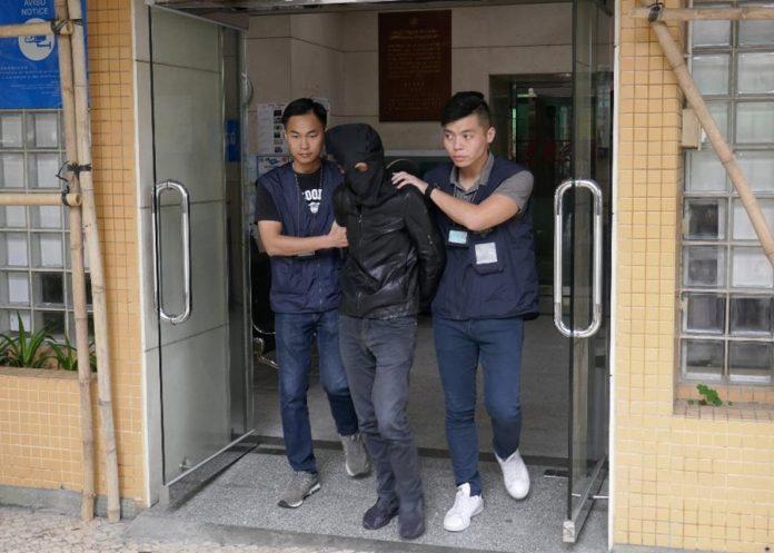 警方拘捕涉販毒內地男子