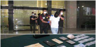 兩港男涉販毒及吸毒被移交檢察院處理