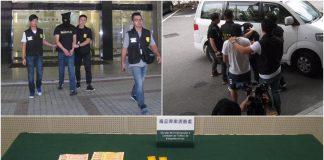 司警連破兩販毒案拘3人