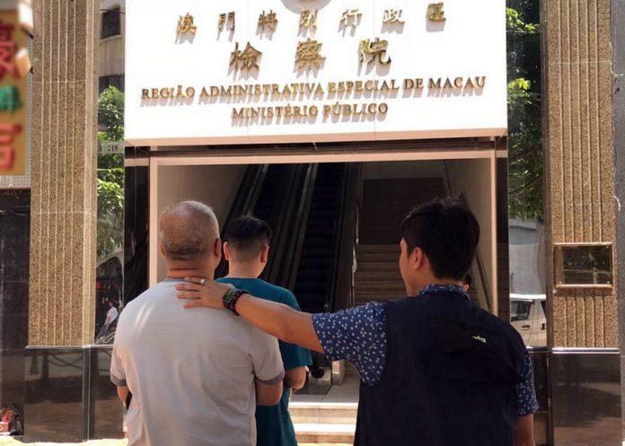被捕兩漢涉在碼頭交收毒品被治安警拘捕