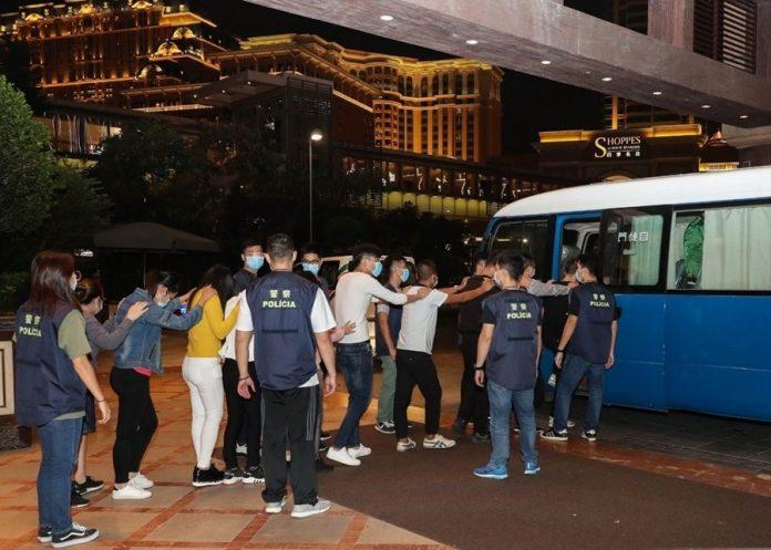 治安警拘25人涉從事不法兌換貨幣及不法借貸