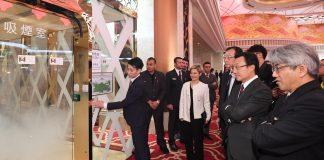 譚俊榮視察中場及賭廳吸煙室20間賭場仍未申請當局明年起加強巡查