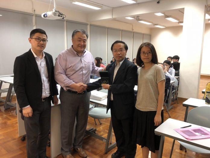 銀娛高級副總裁助理為理工師生開講