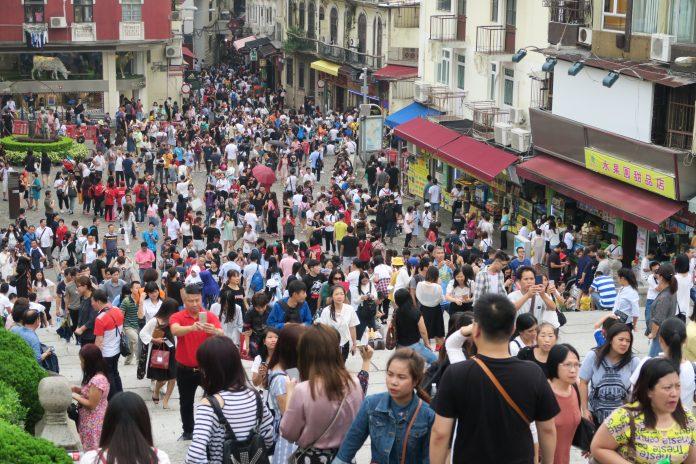 10月入境澳門旅客逾315萬按年升9.2%