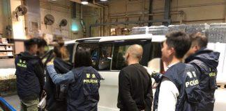 被捕五名內地無業男女同涉販毒和吸毒被移交檢察院處理