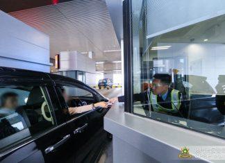 回歸日5.8萬人次出入境創港珠澳大橋澳門口岸單日紀錄