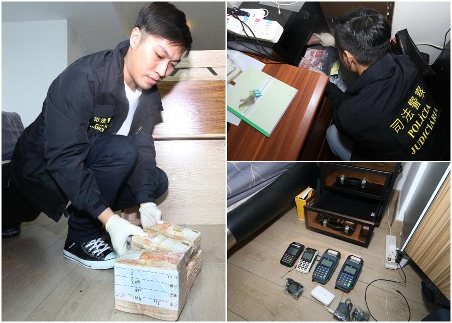司警公安聯手搗破地下錢莊扣押3,000萬元現款。