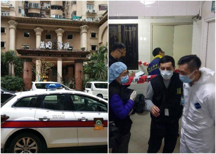 氹仔萬國華庭一間非法旅館凌晨發生命案