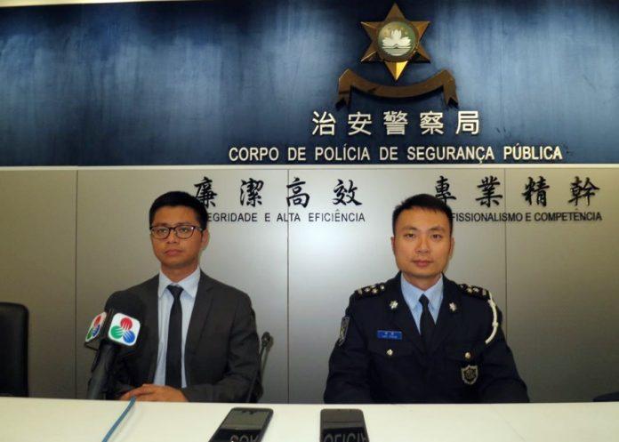 姓孫換錢黨涉相當巨額詐騙被司警拘捕
