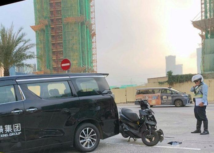 勞工局跟進查氹仔奪命車禍司機疑涉過職工作