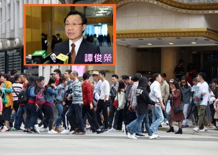 譚俊榮指澳門對徵旅客稅持開放態度 基建逐步落成可提升承載力