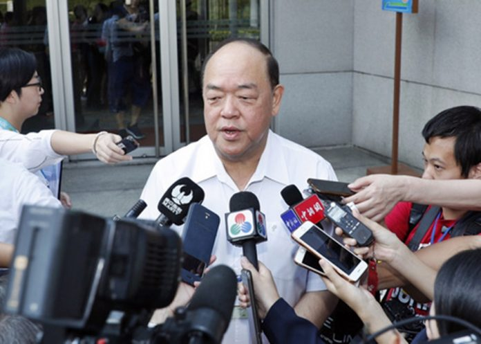 澳门特首选举8月跑马仔大热立法会主席贺一诚率先宣布参选