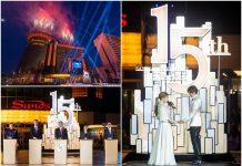 全澳首間酒店娛樂綜合體 澳門金沙慶祝開業15周年