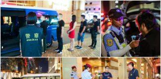 持續反罪惡治安警巡查新口岸金光大道 拘28人涉違法違規行為