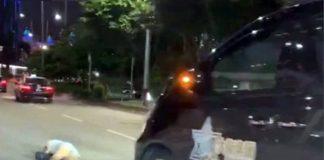 再有兩地牌賭廳七人車疑涉交通意外 過路女遭撞飛送院救治
