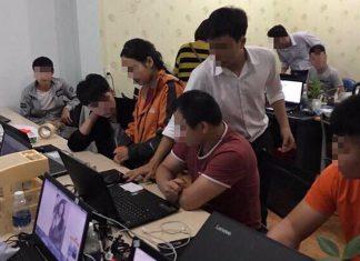 越警破網博集團 35內地人峴港落網移交中國公安處理