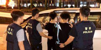 兩港青財困受僱赴澳販毒予賭場夜場客 街頭遇警截查騰雞斷正