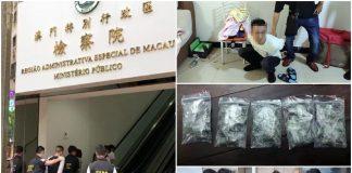 跨境販毒集團死灰復燃續於賭場區散貨 珠澳警方聯手再拘32人