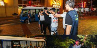 治安警續反罪惡巡查新口岸金光大道 拘23人涉換錢黨放數賣淫