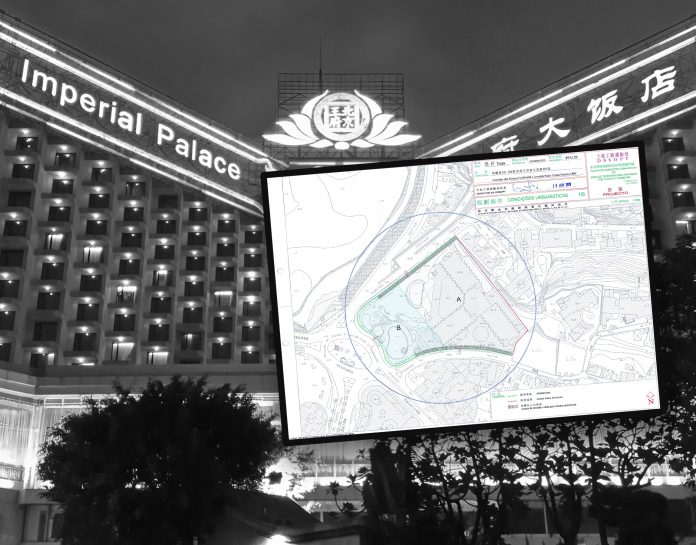 北京王府大飯店原址申請規劃條件圖 酒店及賭場有望重建翻生