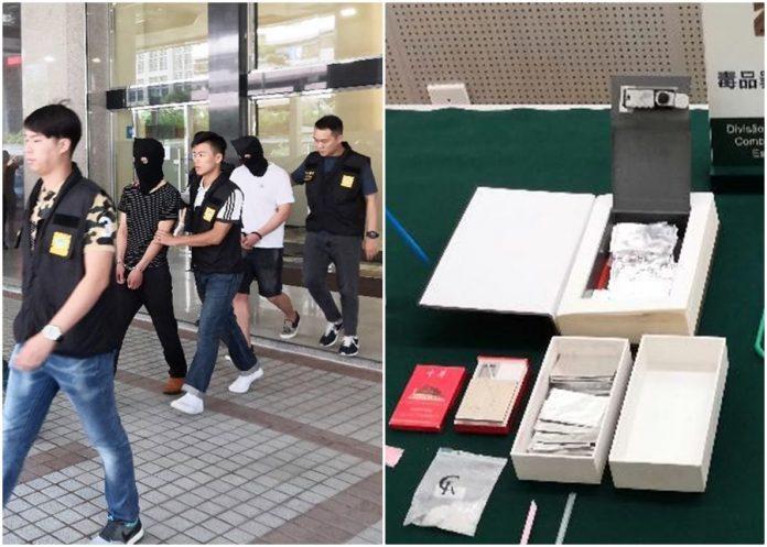 公安情報助司警破毒品交易拘3人 搜毒窩首揭書形夾萬藏毒