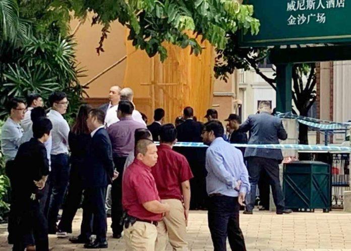 內地漢路氹城行人天橋底上吊亡 司警列屍體發現交調查科跟進
