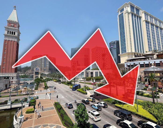 8月澳門賭收243億按年跌8.6% 差過市場預期創今年最大跌幅
