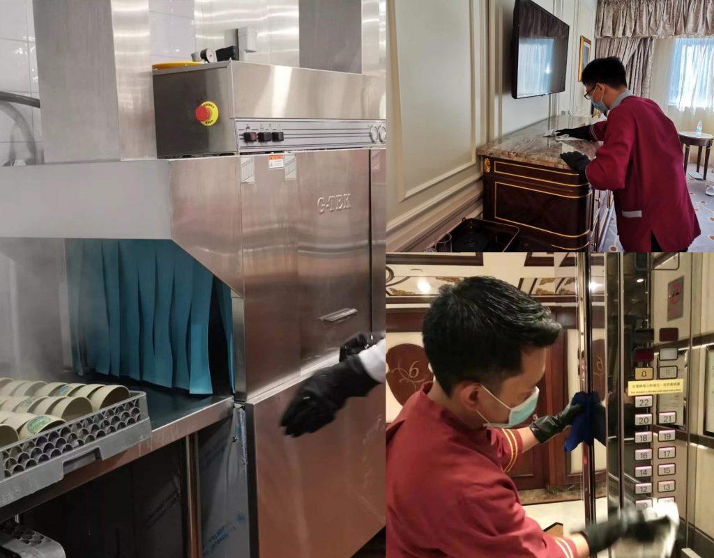 新東方置地酒店管家部員工發燒送院 有待檢測是否確診武漢肺炎
