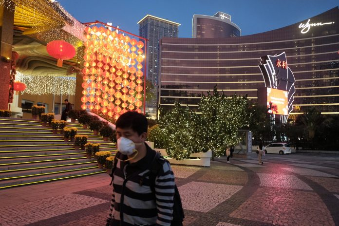 武漢肺炎疫情升溫 傳澳門政府要求博企勸拒湖北省旅客進入賭場