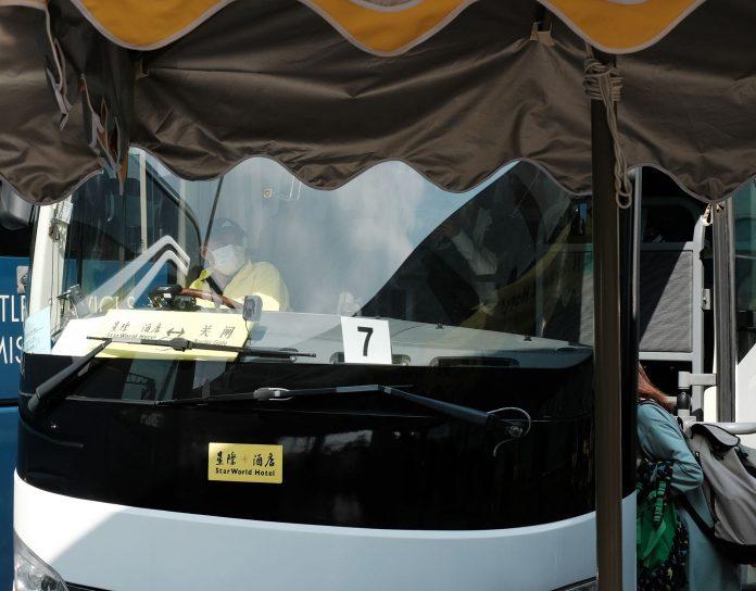 檢疫測試擴至全澳發財巴司機 首批103樣本結果皆呈陰性