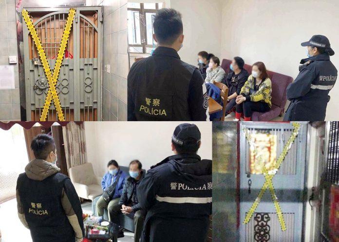 治安警北京街連搗兩非法旅館截獲5租客 揭女荷官疑當包租婆