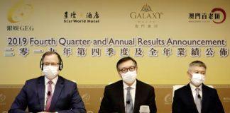 呂耀東稱銀娛未擬裁員 每日開支約2300萬無回應賭廳會否減租