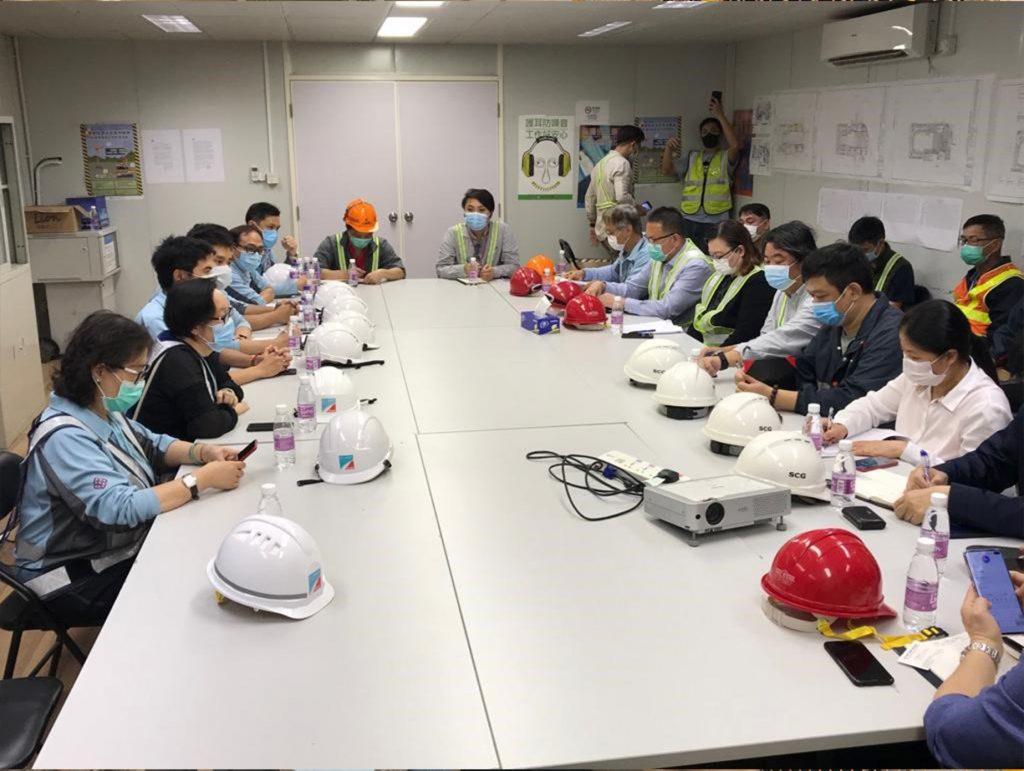 銀娛三、四期地盤7死傷事故 勞工局發現工地有不安全狀況勒令停工