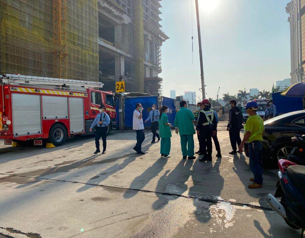 銀河酒店地盤塌棚架意外釀3死4傷  勞工局勒令停工徹查成因
