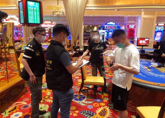 司警反罪惡巡新口岸賭場周邊一帶 截查38人