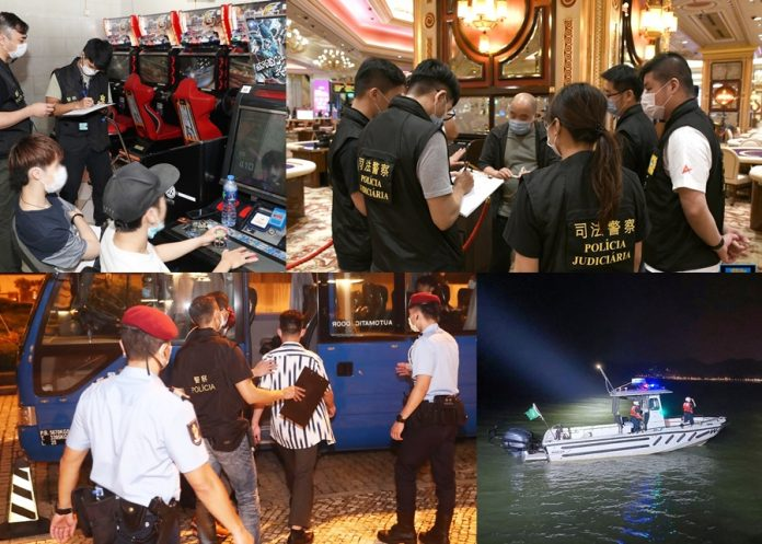 雷霆2020出動200警力巡查賭場及周邊 拘4人涉偷渡或逾期逗留