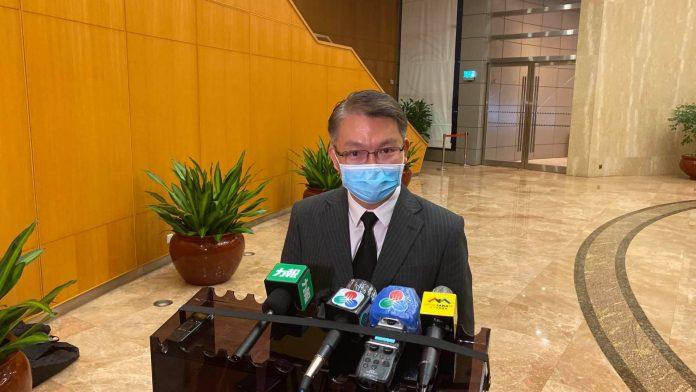 何浩瀚6.10接任博監局長 李偉農強調不影響博彩法修訂