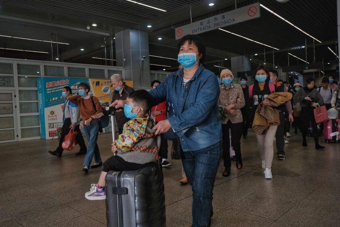 曾赴汕尾陸豐南塘鎮訪澳明起須隔離 賭場員工再核檢還看疫情
