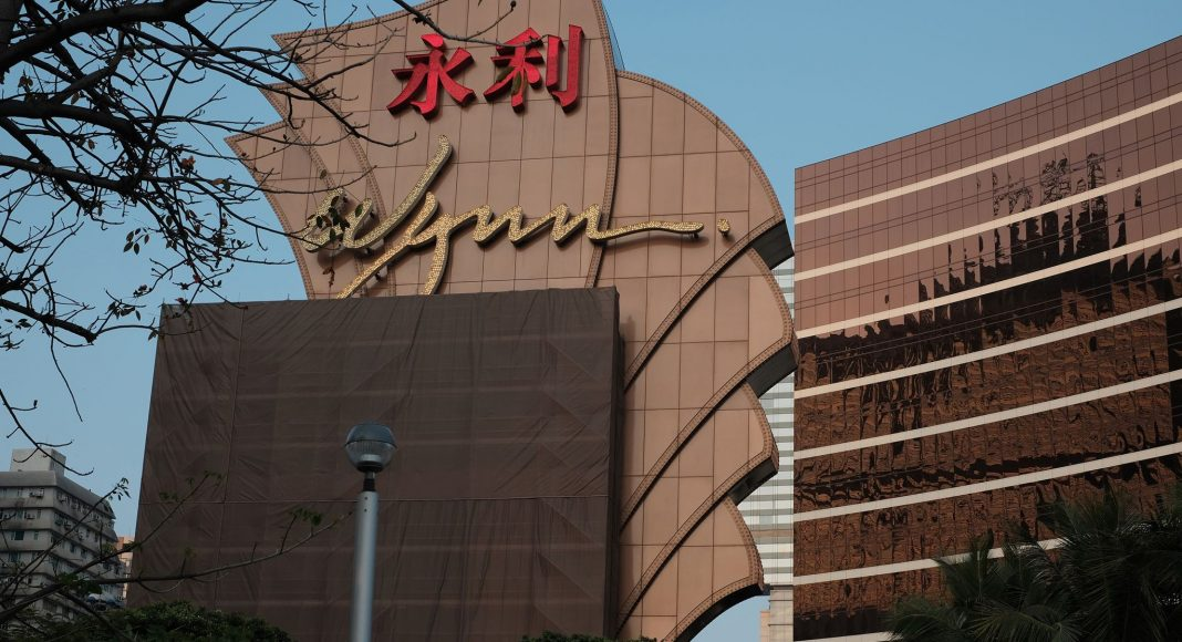 永利澳門次季蝕27億略遜預期 母企CEO指3月決定停爭日本賭牌