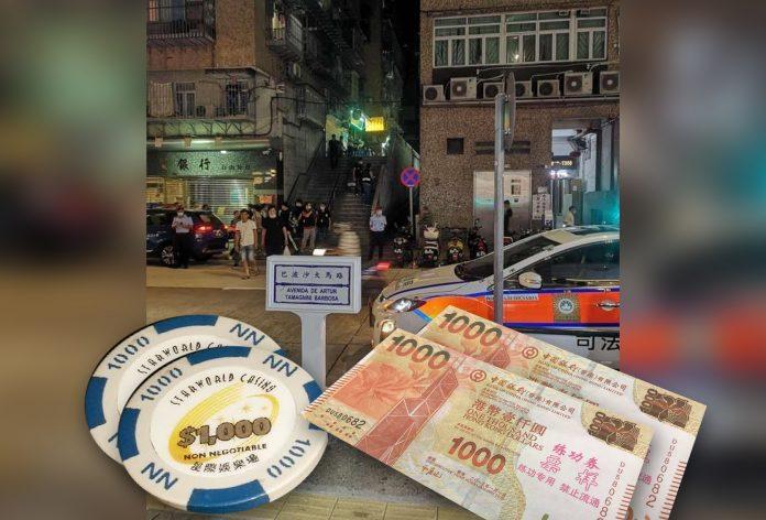 練功券騙徒呃三人千萬元星際賭廳現金碼 消息指警破案人贓並獲