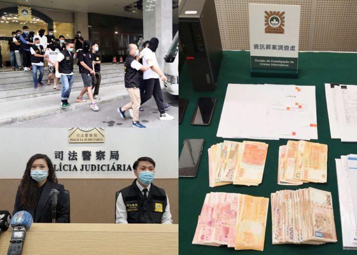 串通內鬼圖詐騙銀行225萬車貸 司警拘主腦及賭場公關等9人