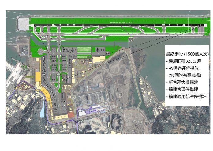 澳門機場擴建徵公眾意見 民航局料2024至26年客量增至1100萬