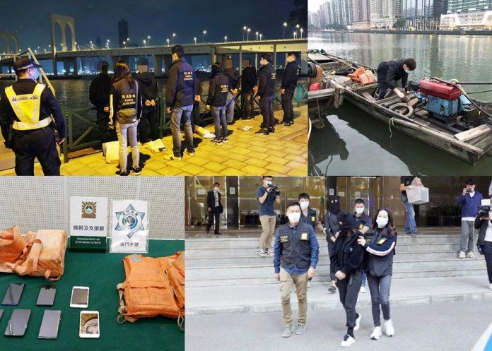 珠澳聯手再破偷渡集團拘9成員 5人蛇就擒認非法入境只為賭