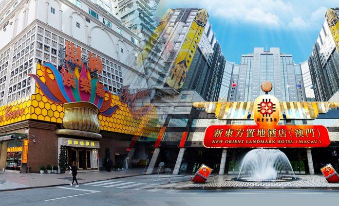 11月例淡賭廳收益跌近4成德晉搶佔第二 衞星賭場財神置地績佳