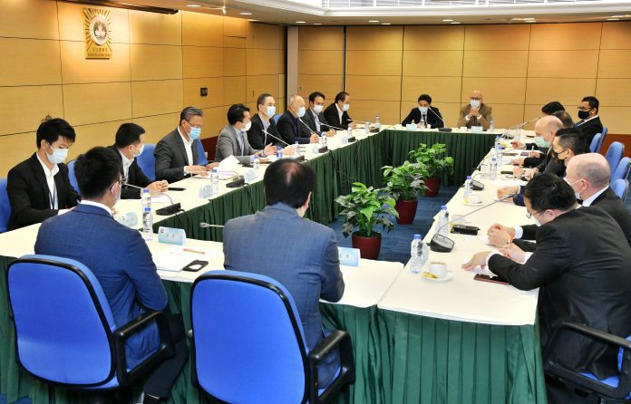 博监局联同司警博企召开定期会议交流完善打击换钱党策略
