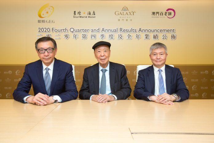 銀娛去年轉蝕39.7億勝預期 呂志和期待澳門賭牌下半年展諮詢