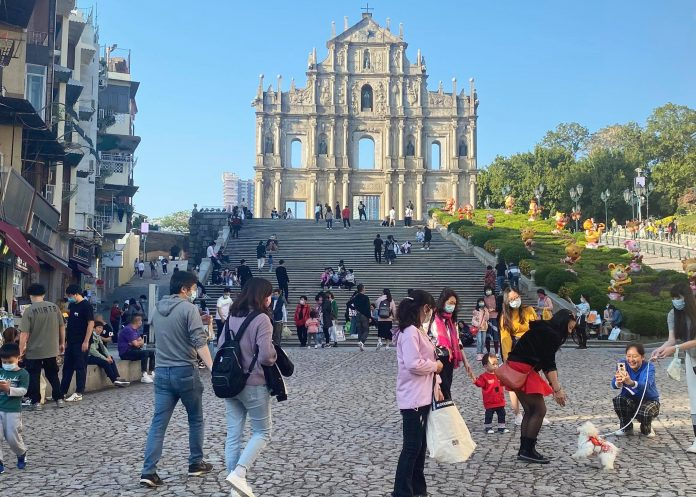 90,000 tourists visit Macau during Spring Festival Golden Week Average hotel occupancy rate less than 50%