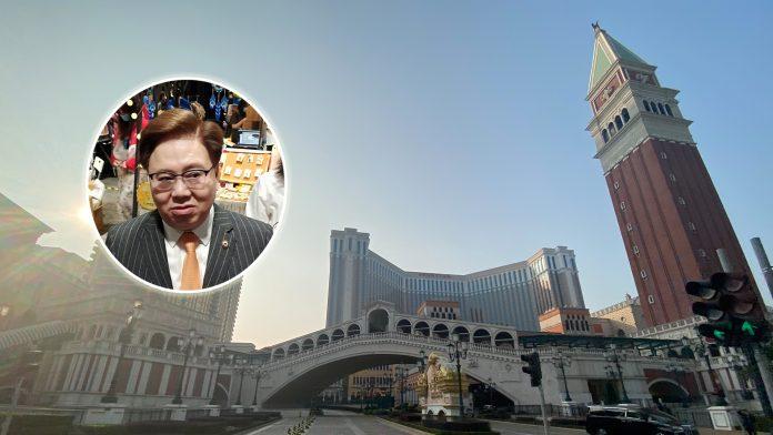 王英偉指近月旅客升帶旺賭場酒店 金沙安排放假員工黃金周上班
